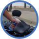 Wash&Shine 66 waterless motorcycle cleaner Harley Davidson Step 1 spray