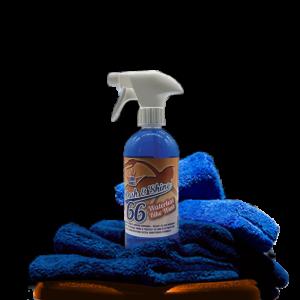 wash&shine66 waterless motorcycle cleaner