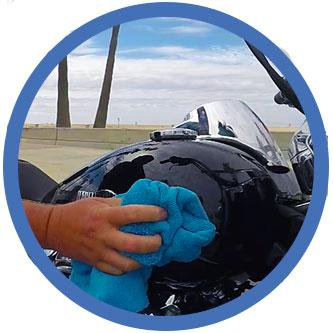 how to apply best motorcycle cleaner, best quick detailer for motorcycles