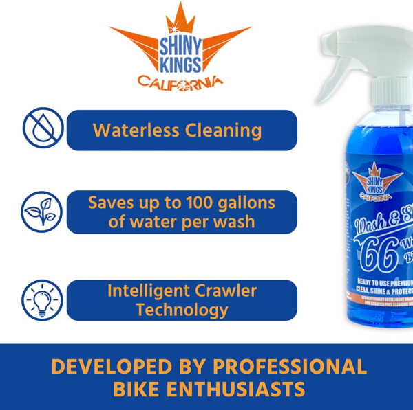 best waterless motorcycle cleaner and bike wash waterless wash and wax