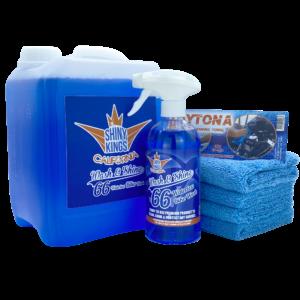 waterless wash and wax XXL Combo Wash&Shine 66 bike wash 186 fl oz incl 4 towels