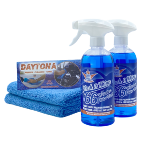 waterless motorcycle cleaner Wash&Shine 66 waterless bike wash 16.9 fl oz All in One All surfaces wash and wax quick detailer with intelligent crawler technology for scratch free cleaning